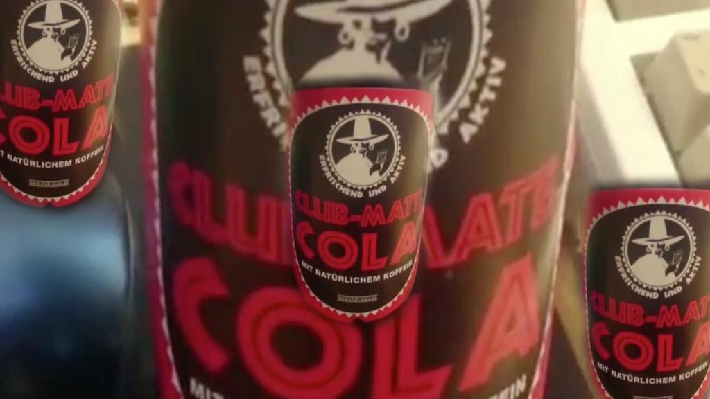 Club-Mate Cola taste Review