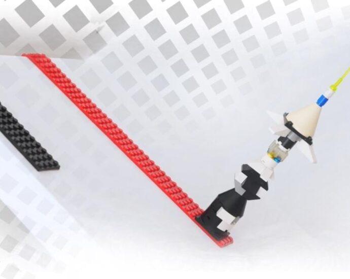 Build your Lego City sideways