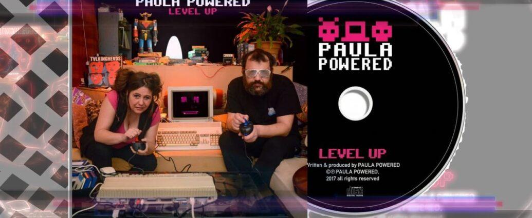 Paula Powered Level Up cover