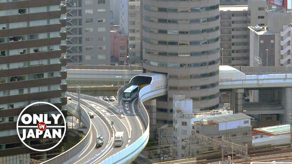 Quite Amazing Highway Passage in Osaka, Japan