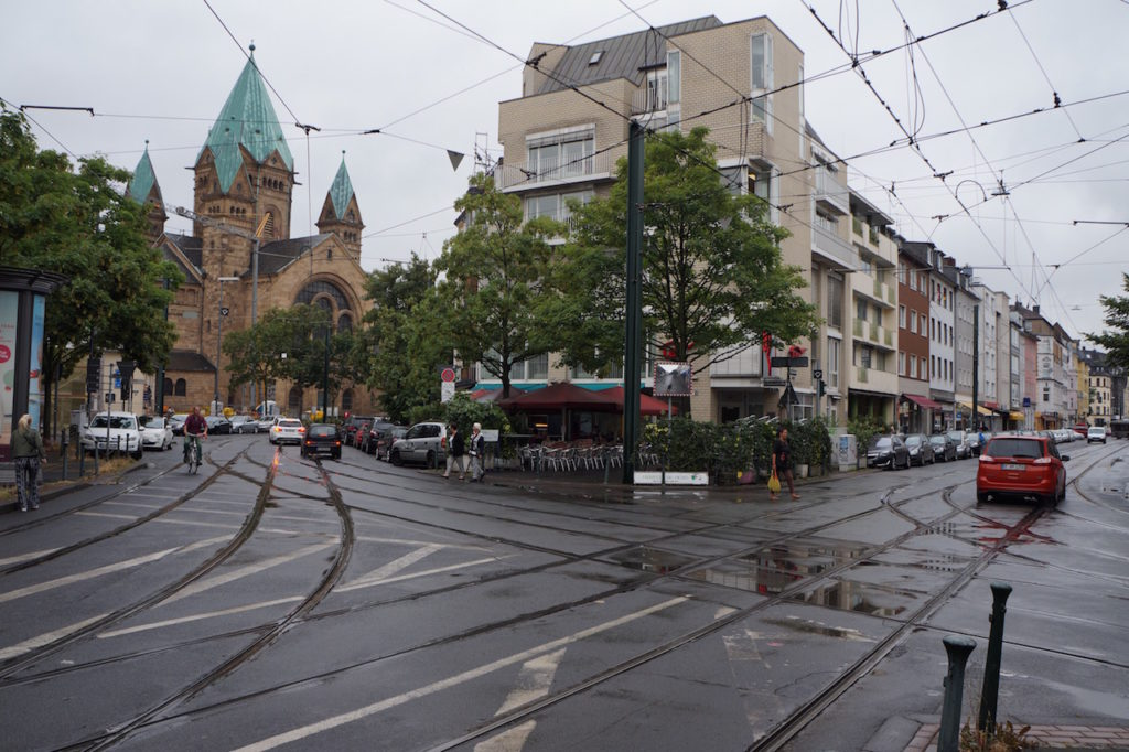 Trams as a transportation