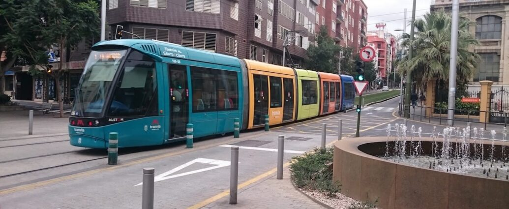 Trams as a transportation
