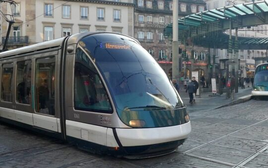 Strasbourg connects its Tram network with Germany
