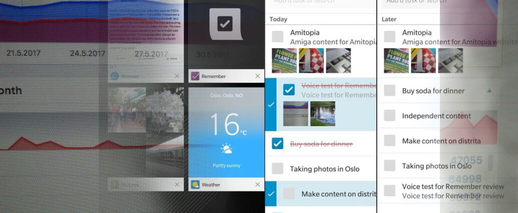 Review of Remember for BlackBerry OS 10