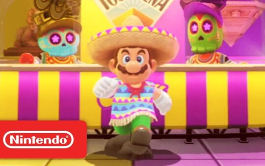 Super Mario Odyssey is Out for Nintendo Switch on 27th of October