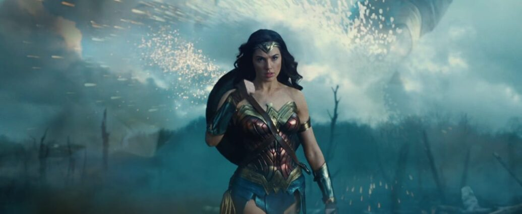 Wonder Woman played by Gal Gadot from Israel