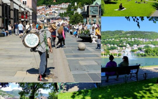 The wettest city in the world is Bergen – But not Today