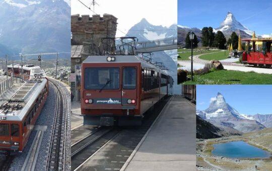 T-Shirt Weather at 3000m in Switzerland, Europe – Gornergrat Bahn
