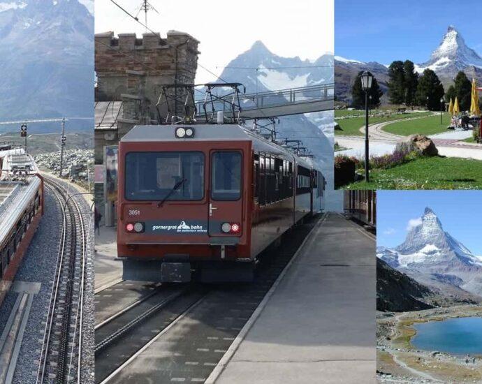 Gornergrat Bahn and the Tram