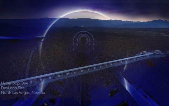 Hyperloop sets record speed