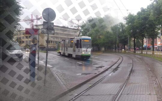 Szczecin Tram Revealed and Tested in Poland