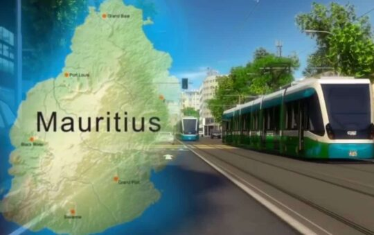 In 2021 Mauritius will get it's first Light Rail route