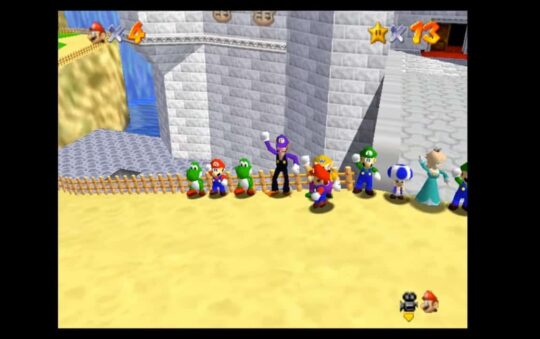 Play Super Mario 64 Online with Friends