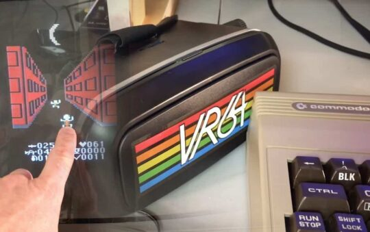 Virtual Reality for Commodore 64 is just Epic – VR64