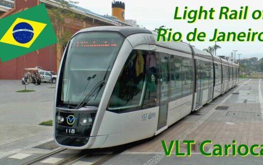 Rio de Janeiro in Brazil expands it's Modern Tram Network