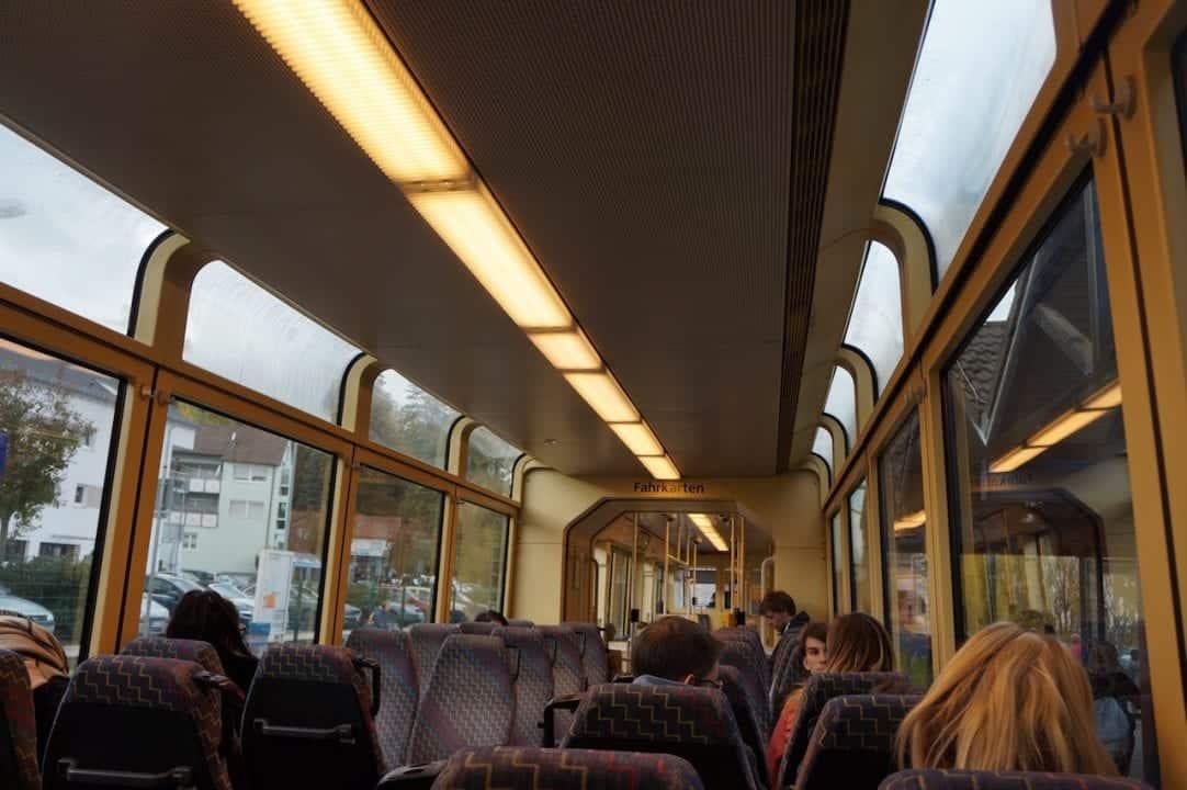 Karlsruhe Panorama train-trams