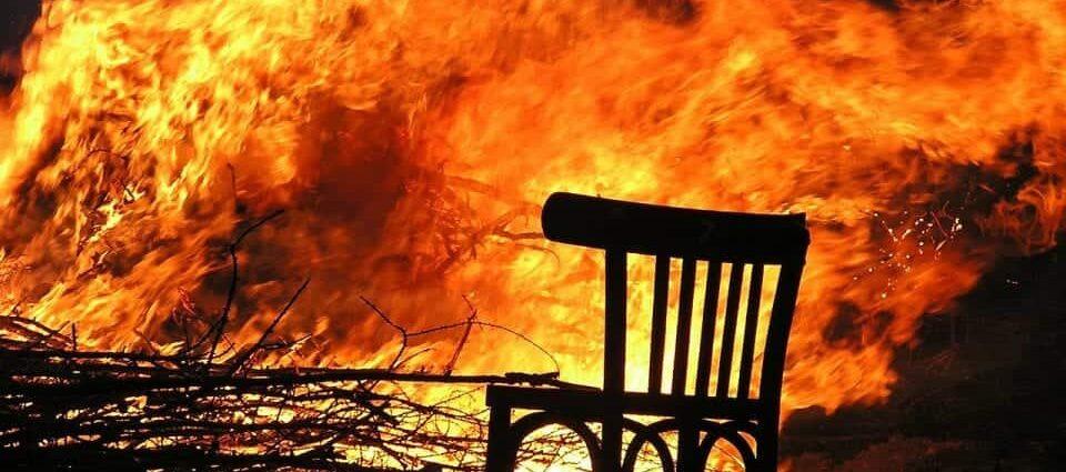 fire blaze in Los Angeles