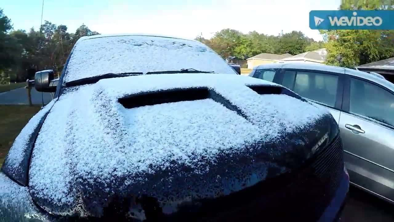 Snow in Florida does not happen every day