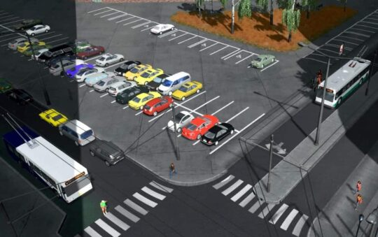 Trolley Bus Returns to Cities Skylines via Great MOD downloads by Blackwolf