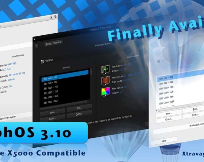MorphOS 3.10 is Alive and it's Out