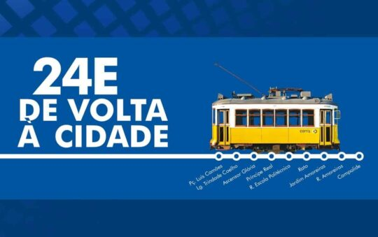 24E Heritage Tram Line Returns to the Capital of Portugal, Lisbon