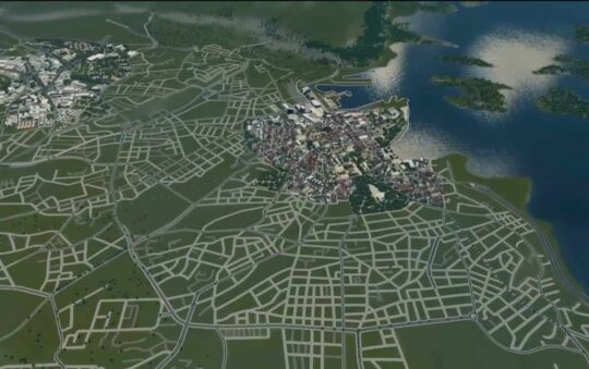 Project Oslo in Cities Skylines