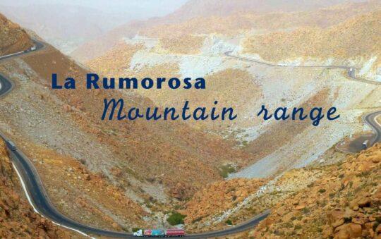 La Rumorosa Mountain range that divides Baja California, Mexico with California, USA Revealed