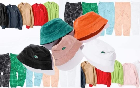 Supreme's Legendary X Lacoste Spring 2018 Collection Drops Tomorrow