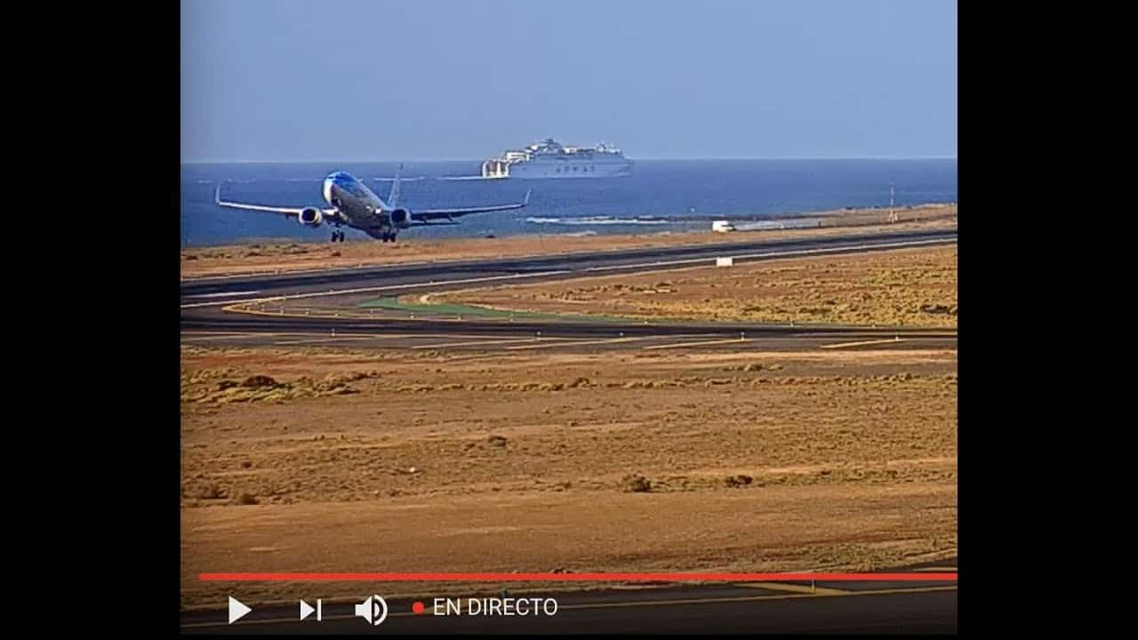 Take a Needed Rest by watching the LIVE Lanzarote International Airport Stream