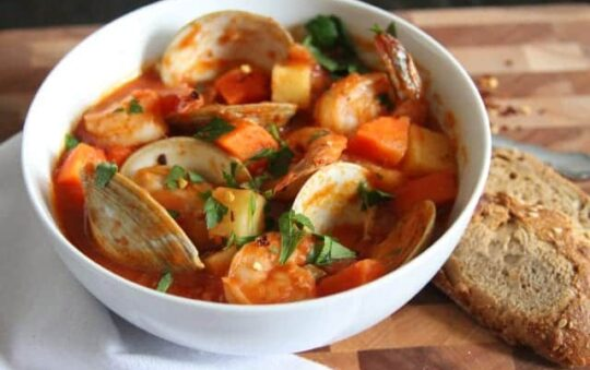 Delicious Seafood Soup Recipe that will Extend your Healthy Life