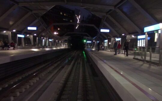 Metro Donostialdea does border crossing between Spain and France