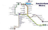 On 21st of July IJ river can be crossed with the Metro of Amsterdam