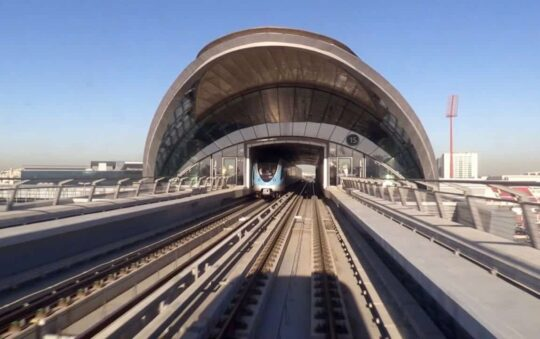 Green Metro Line opens in Dubai improves its Public Transportation