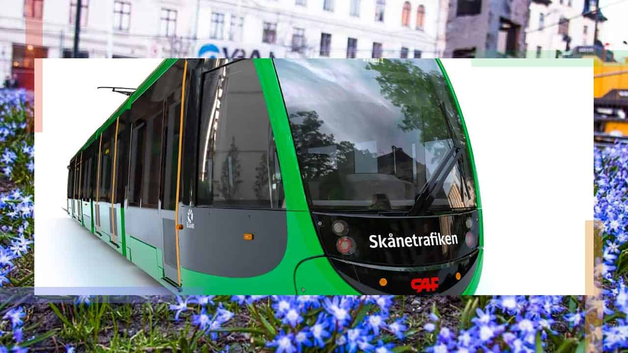 Light Rail Tram type for Lund, Sweden