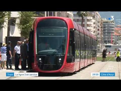 T2 Tram Line in Nice