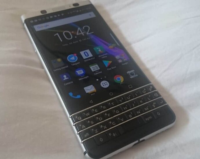 BlackBerry smartphone with Android In 2018