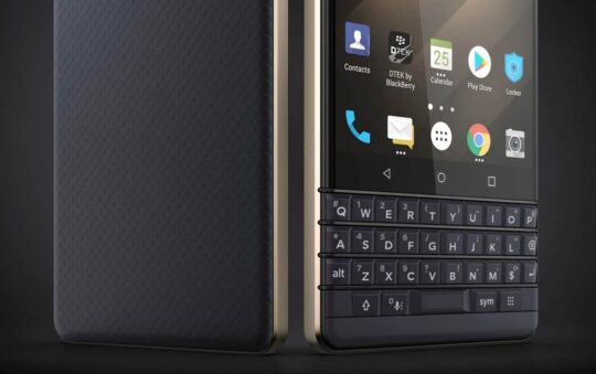 BlackBerry KEY2 LE Affordable Qwerty Android Smartphone