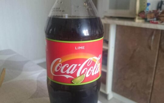 Coca-Cola Lime is Refreshing
