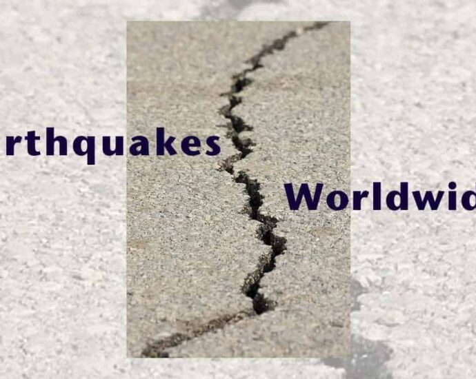 earthquake observations in Australia