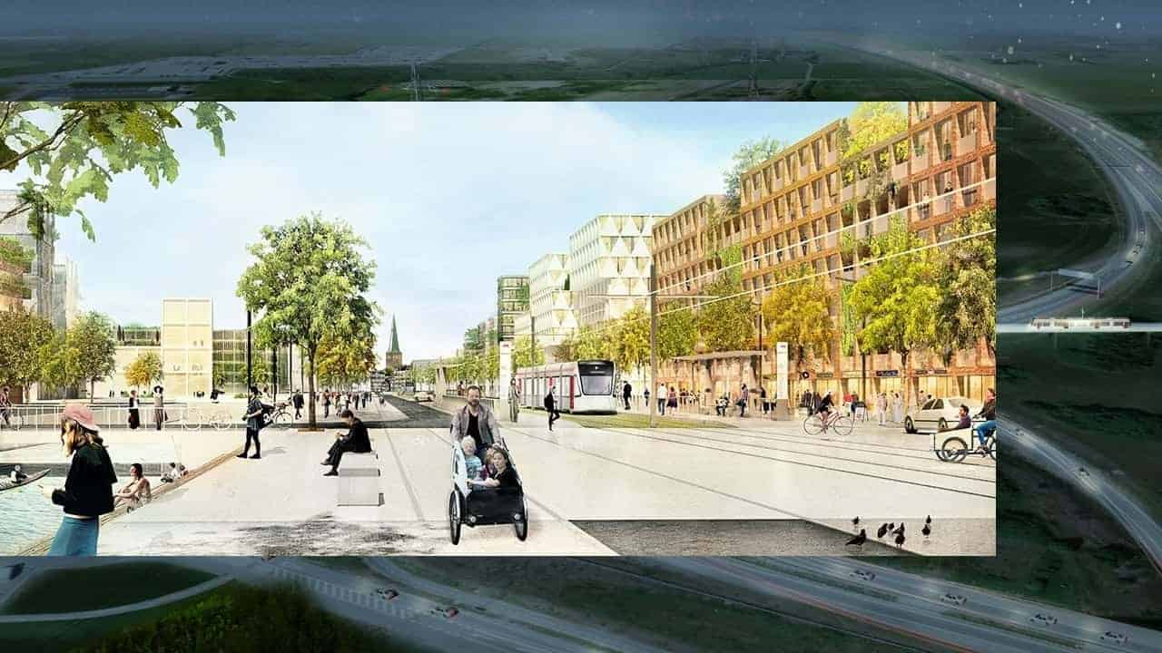 Aarhus Light Rail extensions is now moving on towards Phase 2