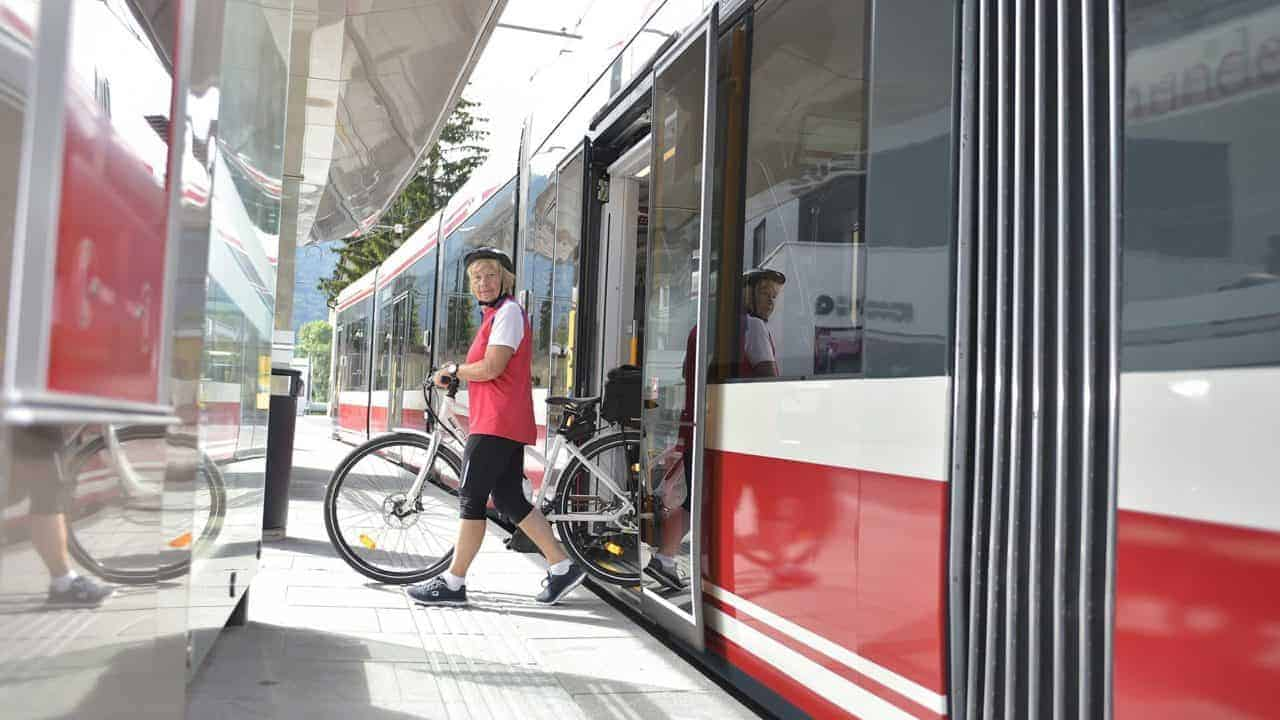 Free Light Rail service in Gmunden