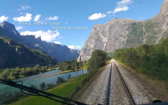 A normal Working day Routine for a Train driver in Norway in the Morning