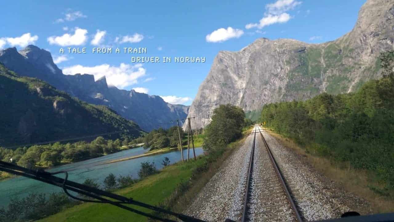 A normal Working day Routine for a Train driver in Norway