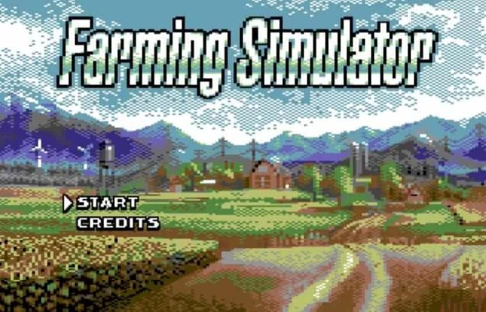 Farming Simulator for Commodore 64 shakes the Modern Gaming Life