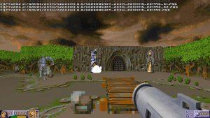 Amiga Classic The Chaos Engine transformed to Doom 3D FPS Engine