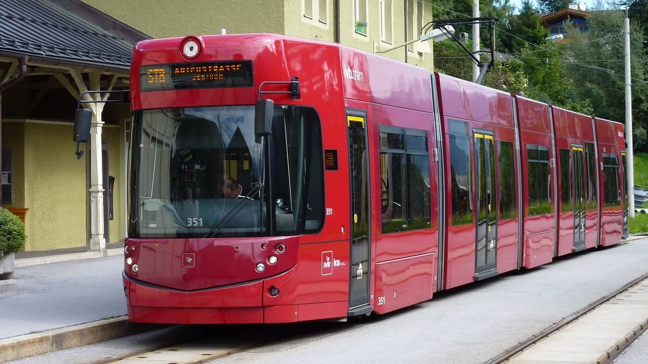 Light Rail Tram Extension in Innsbruck Austria