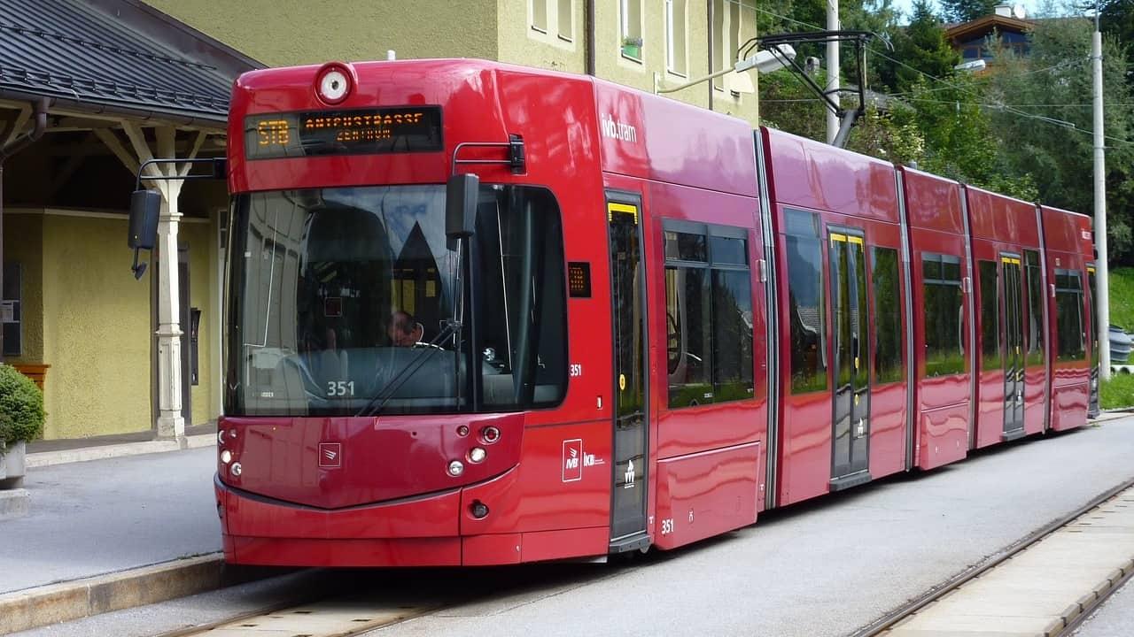 Light Rail Tram Extension in Innsbruck Austria