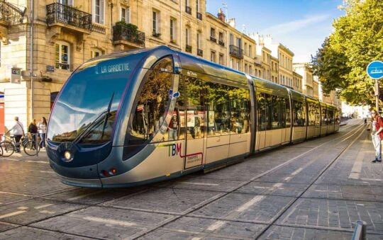 Bordeaux in France just Extended Light Rail Line C by 1.4km