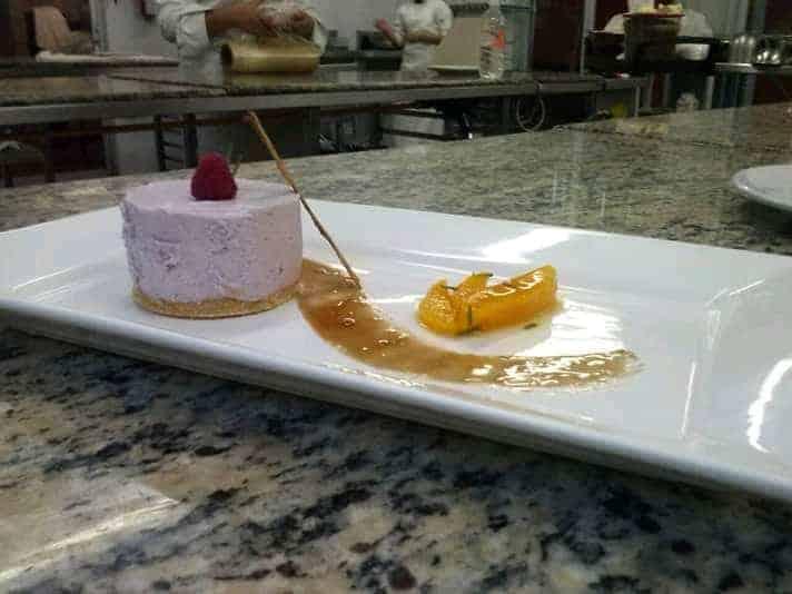 Cheesecake with strawberries-the best cheesecake