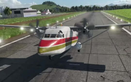 New Airplanes, Highways and Traffic Lights Soon in Transport Fever 2